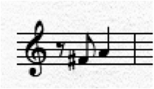 A simple two notes